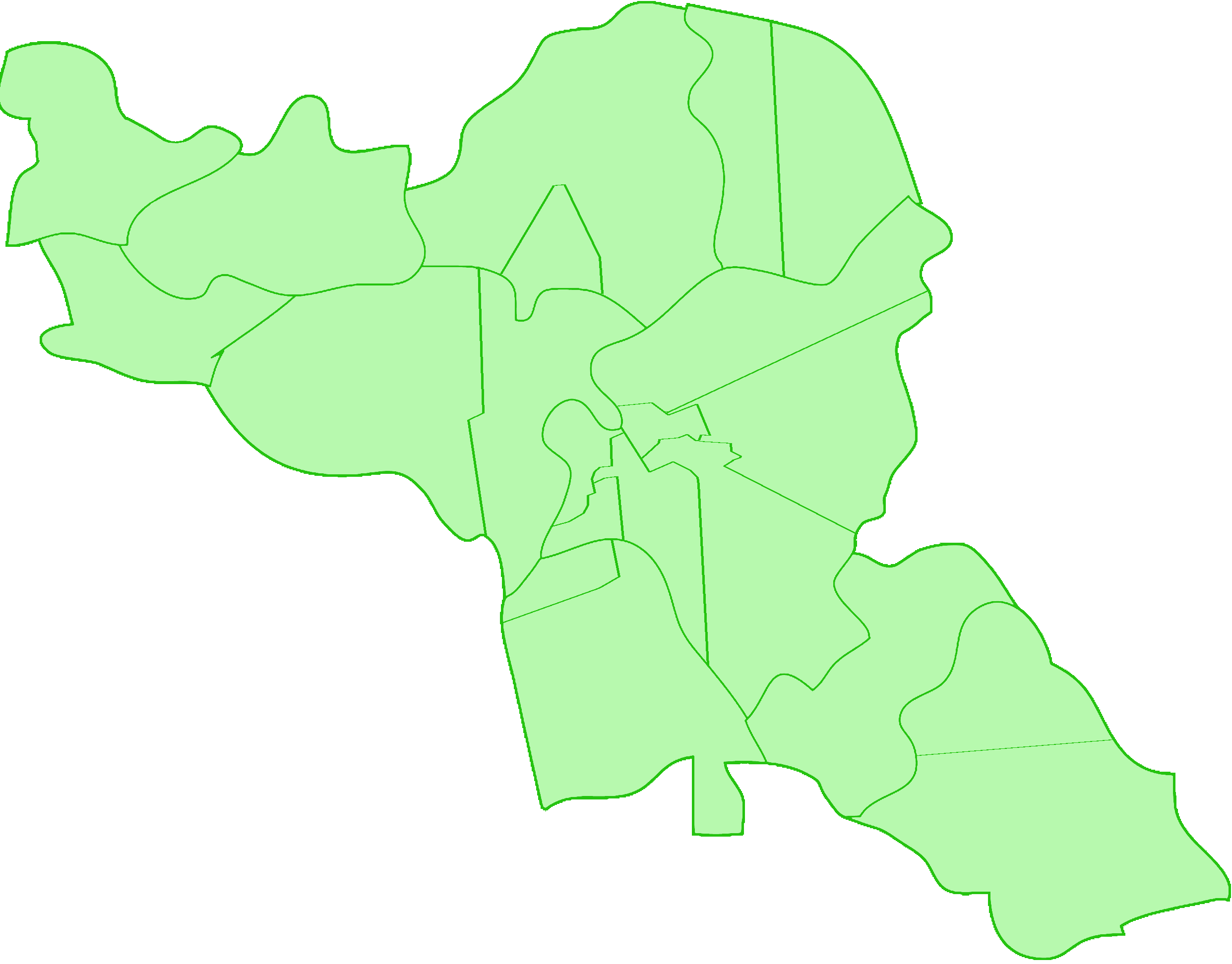 Salzkottens Wahlkreise
